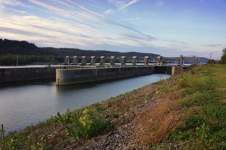 Pike Island Lock and Dam